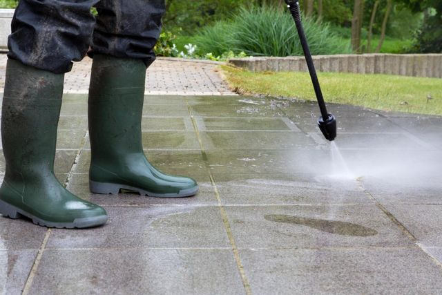 Patio & Driveway Cleaning Bromley