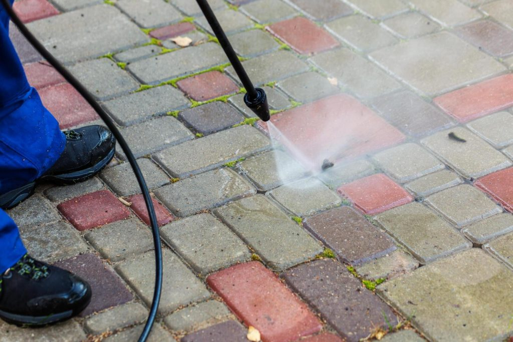 Patio & Driveway Cleaning Hythe Kent
